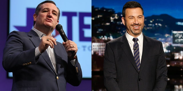 Jimmy Kimmel and Ted Cruz had another spat on Twitter.