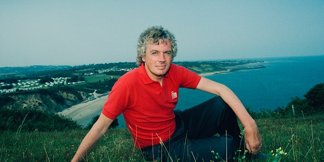 David Icke, pictured in 1992. (Photo by Colin Davey/Getty Images)