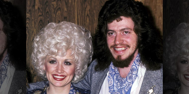 Dolly Parton and late brother Floyd Parton are pictured on January 15, 1981.