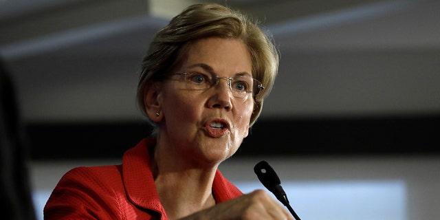 U.S. Sen. Elizabeth Warren, D-Mass., speaks in Washington, Aug. 21, 2018. (Reuters)
