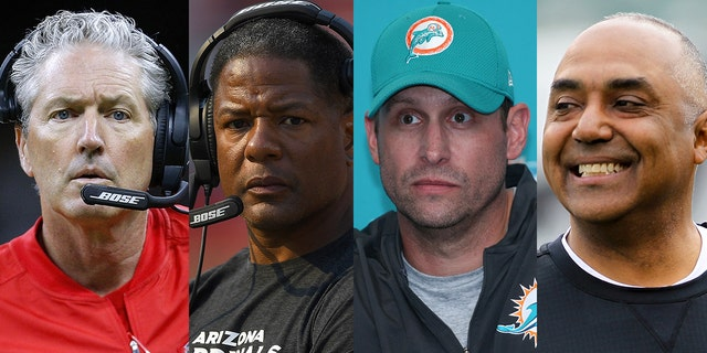 Dirk Koetter, Steve Wilks, Adam Gase, and Marvin Lewis were among the NFL coaches fired on Monday.