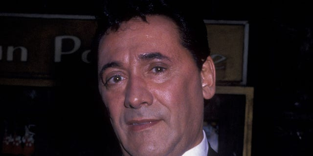 Frank Adonis, pictured here in 1989, has reportedly died. He was 83.