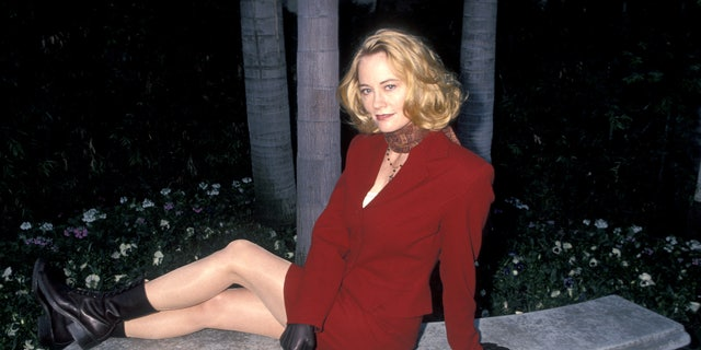 Cybill Shepherd during CBS Winter Press Tour - January 6, 1995 at Ritz Carlton Hotel in Pasadena, California, United States. (Photo by Ron Galella, Ltd./WireImage)