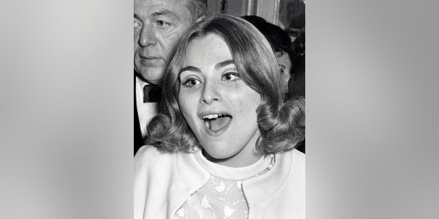 Roslyn Kind during Roslyn Kind Opening, 1969 at the Plaza Hotel in New York City.