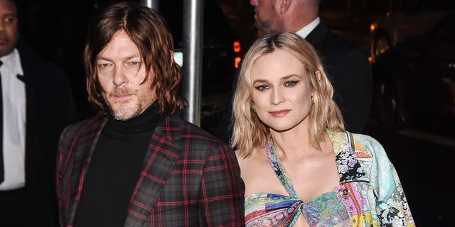 Norman Reedus shared the first photo of his daughter with Diane Kruger on Christmas Eve.