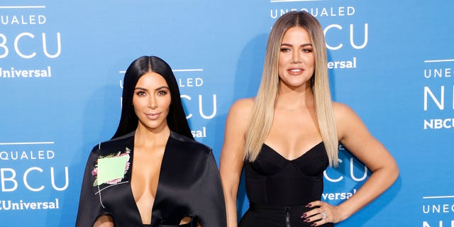Kim Kardashian West and Khloe Kardashian pictured here in May 2017,