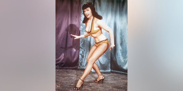 Bettie Page in 1955.