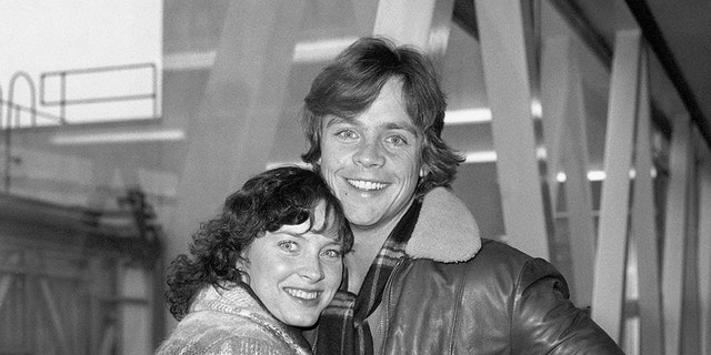 Mark Hamill and Marilou. — Getty