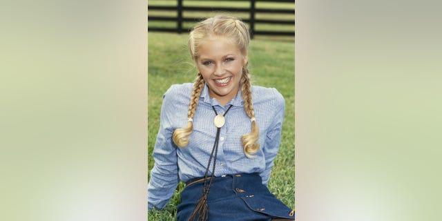 American actress Charlene Tilton, circa 1980.