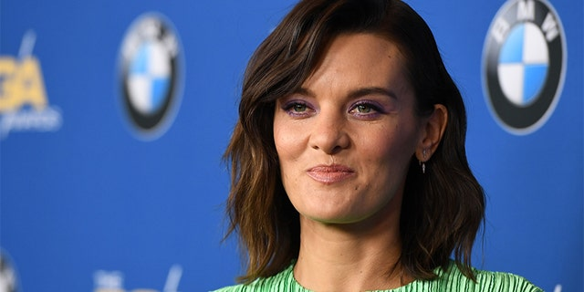 Actress Frankie Shaw arrives for the 2018 DGA Awards at the Beverly Hilton, on February 3, 2018 in Beverly Hills, California.