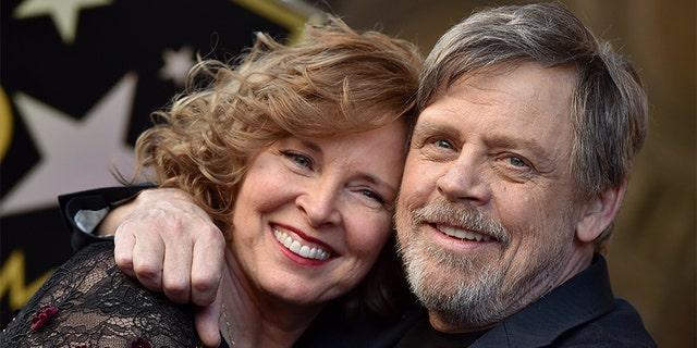 Mark Hamill first met Marilou, here in March 2018, when she was working as a dental hygienist and before he became a household name as Luke Skywalker.<br> 