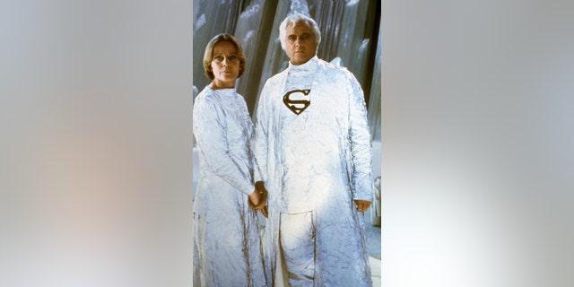 American actor Marlon Brando with British actress Susannah York. — Getty