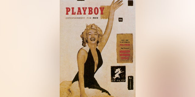 Marilyn Monroe on the cover of the first issue of Playboy. — Getty
