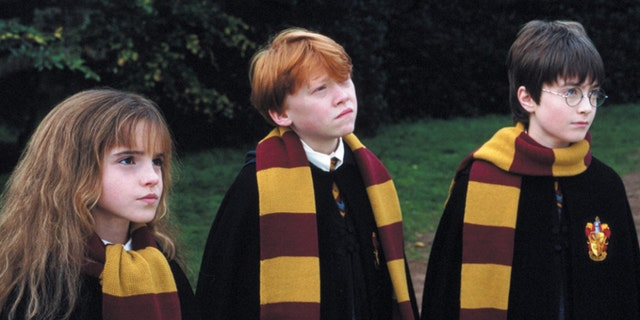 (From left) Emma Watson, Rupert Grint and Daniel Radcliffe in the 2001 film