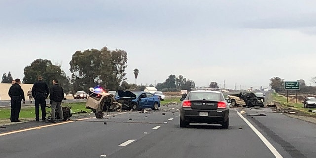 The crash killed Garcia and left four people injured, one critical.