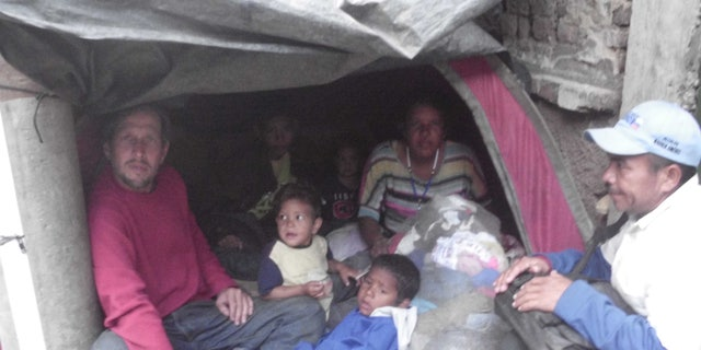 Entire families forced to make the arduous journey from Venezuela as the crisis continues.