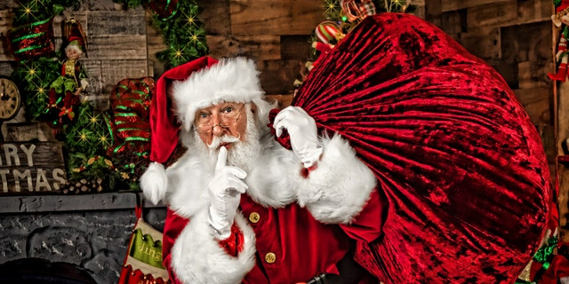 "Rick Rosenthal, or ""Santa Rick,"" is an Orthodox Jew who says it's no secret he's also a full-time Santa."