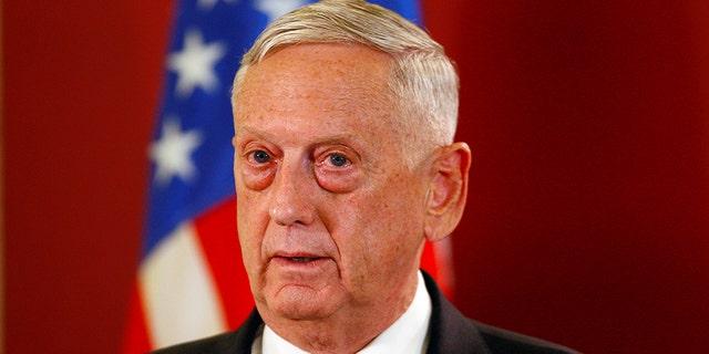 President Trump says Defense Secretary James Mattis will be retiring in February.
