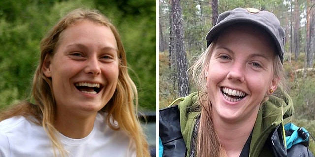 Louisa Vesterager, left, andMaren Ueland, right,were found dead Monday with stab wounds on their neck near the village of Imlil.