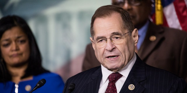 Rep. Jerry Nadler, D-N.Y., has remained cautious when it comes to calls to impeach President Trump.