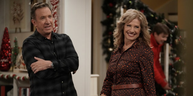 Tim Allen and Nancy Travis in the 'Last Man Standing.'