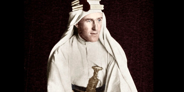 Lawrence of Arabia, early 20th century. Artist: Unknown. Lawrence of Arabia, early 20th century. Thomas Edward Lawrence, (1888-1935), most famously known as Lawrence of Arabia, gained international renown for his role as a British liaison officer during the Arab Revolt of 1916 to 1918.