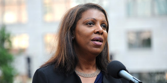 Letitia James is seen June 12, 2017 in New York City. (Getty Images)