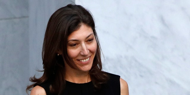Former FBI lawyer Lisa Page leaves the Rayburn House Office Building after a closed doors interview with the House Judiciary and House Oversight and Government Reform committees, Friday, July 13, 2018, on Capitol Hill in Washington. (AP Photo/Jacquelyn Martin)