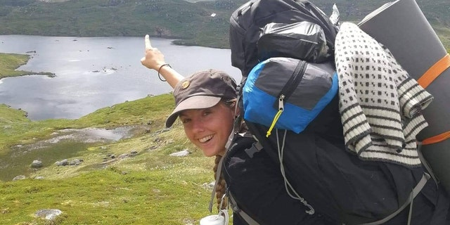 Maren Ueland, 28, from Denmark, was attacked while sleeping in her tent Monday, police believe.