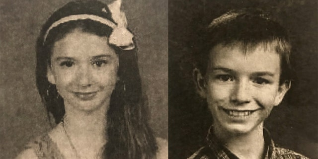 Mary Crocker, 14 (left), and her brother Elwyn Jr. (right) who was 14 when he vanished in November 2016.