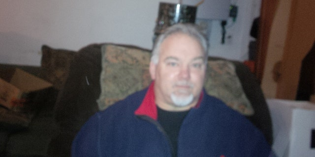 Michael Carroll, 57, at his home in Lake Grove, L.I. (Fox News)