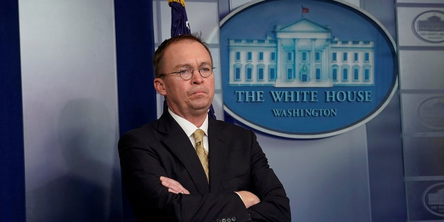 Former South Carolina Rep. Mick Mulvaney is the White House budget director.
