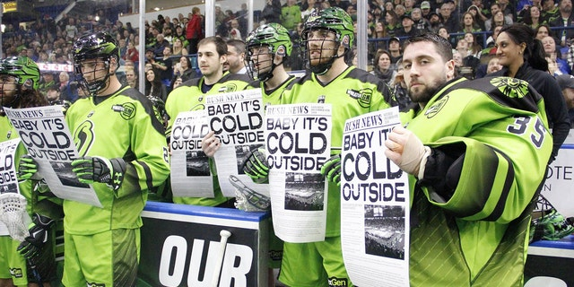 The Saskatchewan Rush received some backlash after singing 'Baby, It's Cold Outside' during halftime of their game against the Calgary Roughnecks.