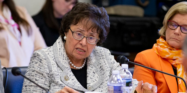 "House Appropriations Committee Chairwoman Nita M. Lowey, D-N.Y., will slam Barr's handling of the report as ""unacceptable,"" according to her prepared remarks. (Alex Edelman/Getty Images, File)"