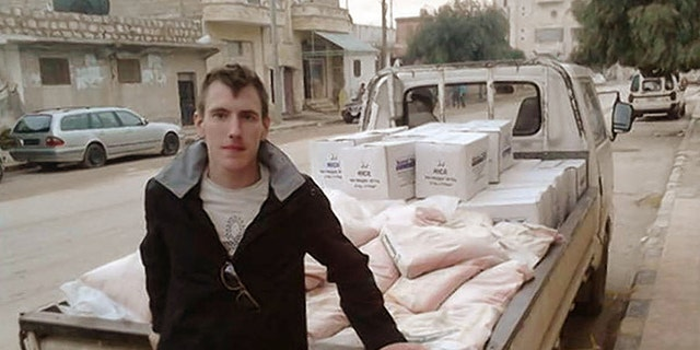 "Former U.S. Army Ranger Peter Kassig, pictured here, was captured in Syria in 2013. The U.S.-led coalition said that Abu al Umarayn, a senior ISIS leader who was involved in Kassig's death, was killed in a drone strike on Sunday.<br data-cke-eol=""1"">"