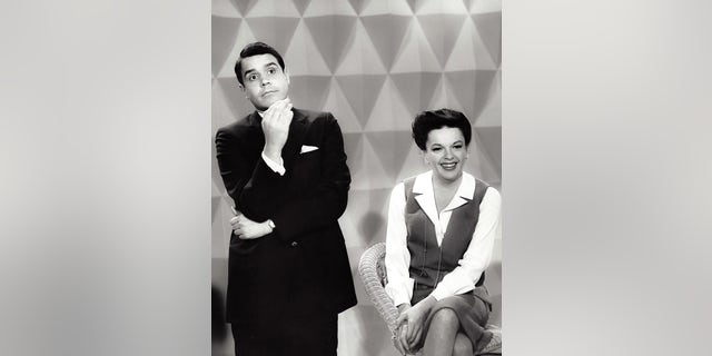 Rich Little and Judy Garland. — Courtesy of Rich Little
