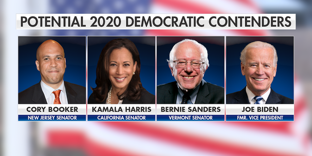 New Jersey Sen. Cory Booker, California Sen. Kamala Harris, Vermont Sen. Bernie Sanders, and former Vice President Joe Biden have all visited Iowa in recent months.