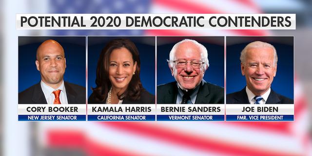 New Jersey Sen. Cory Booker, California Sen. Kamala Harris, Vermont Sen. Bernie Sanders, and former Vice President Joe Biden have all visited Iowa in recent months.