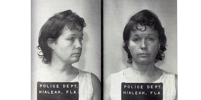 Bettie Page mugshot. — Splash