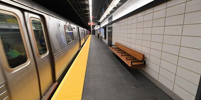 A NewYork City subway platform is seen Nov. 2, 2017. (Marc A. Hermann/MTA New York City Transit)