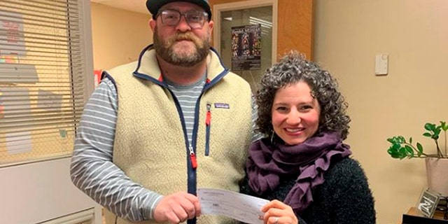 Tommy Kelley donated $4,000 to Putnam City's Care Share/Penny's Closet Program which provides Christmas gifts, coats, shoes and more to kids in need.