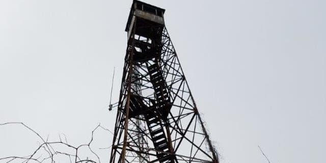 A fire lookout tower up for sale this holiday season requires it be moved by the winning bidder.
