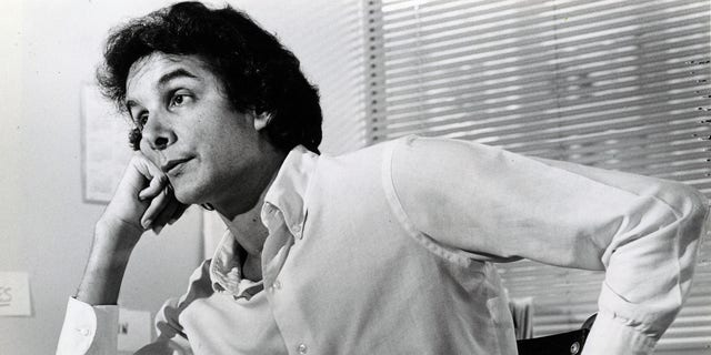 Charles Krauthammer at his desk in 1984.