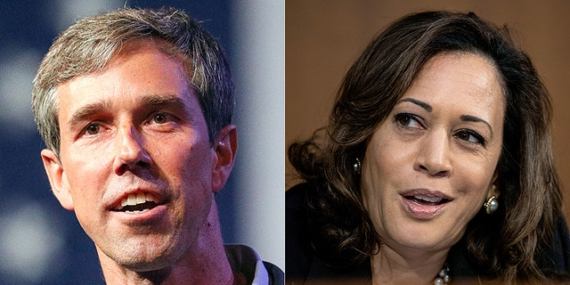 Texas Rep. Beto O'Rourke and California Sen. Kamala Harris are both considered possible presidential candidates. And both of their home states could play a bigger role in selecting the Democratic presidential nominee in 2020, thanks to their early slots on the primary calendar. (Associated Press)