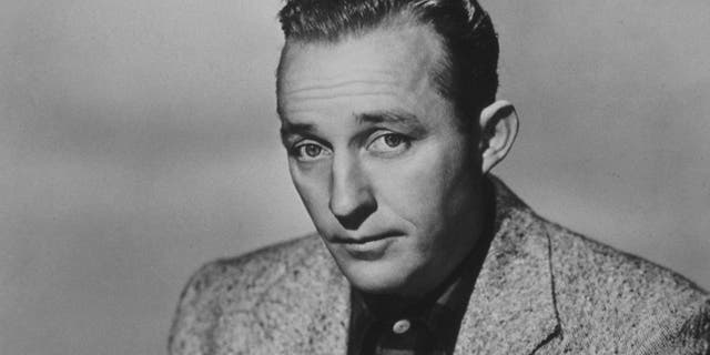 """American entertainer Bing Crosby is well known for his recording of """"White Christmas."""""""