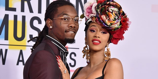 Cardi B and husband, rapper Offset.