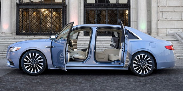 Lincoln Bringing Back Suicide Doors On 2019 Continental Fox News