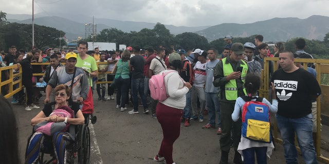Thousands flood from Venezuela into Colombia on a daily basis.