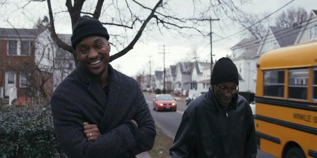 Darnell Barrett and his biological father, Hampton Robinson.