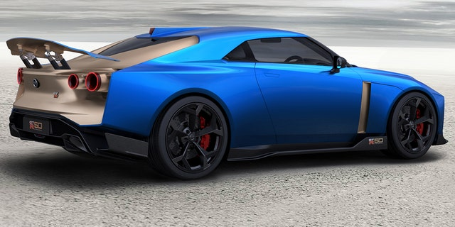 Special edition Nissan GT-R50 sports car looks like a ...